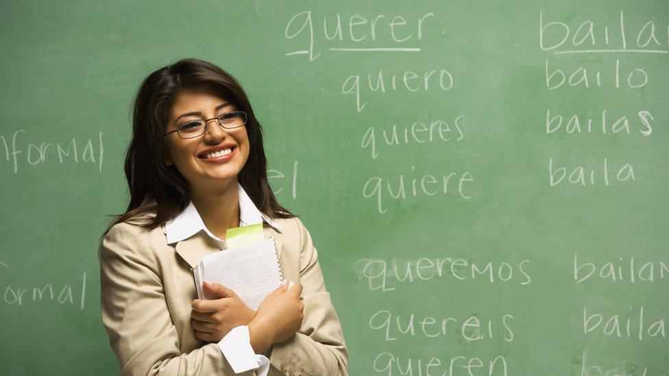 Profesora de español.
