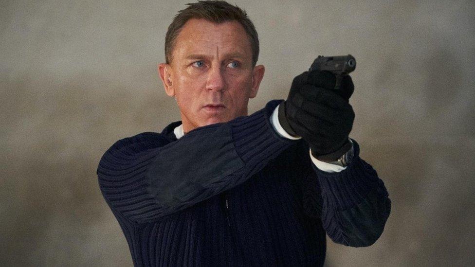 Daniel Craig as James Bond in No Time to Die