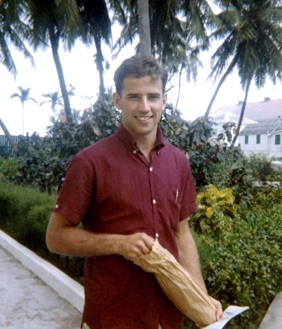 Joe Biden seen in 1967, aged 25