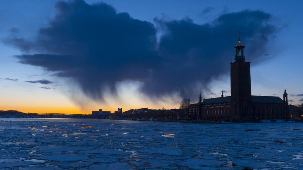 Ayuntamiento de Estocolmo, símbolo de la capital de Suecia y sede del banquete del premio Nobel.