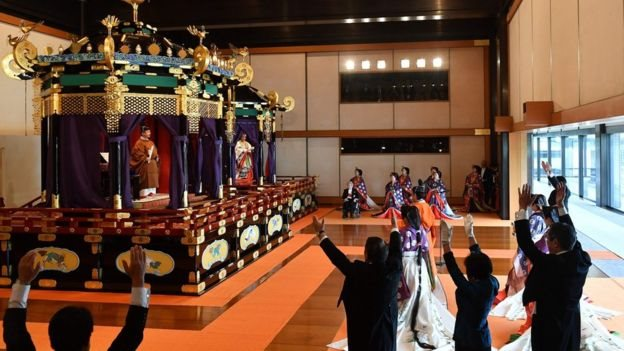 Інтронізація імператора Японії: на церемонії був і Зеленський