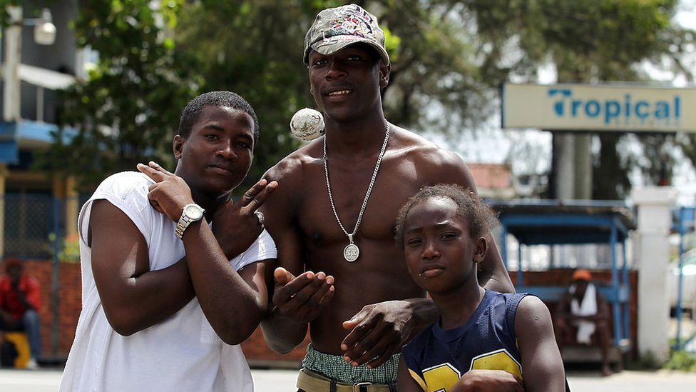 Habitantes de Guyana