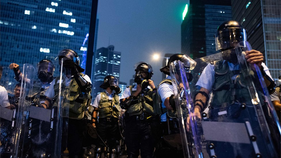 الشرطة في هونغ كونغ