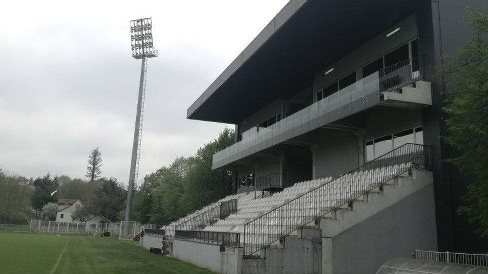 Stadion Čukaričkog renoviran je 2013. godine