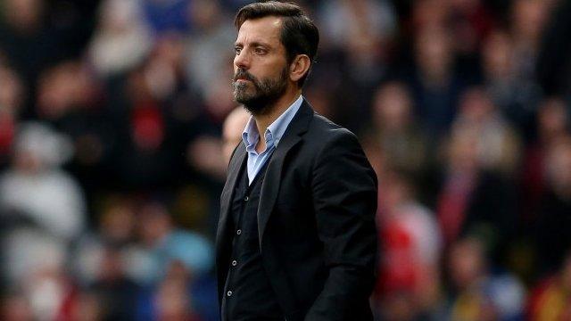 Watford head coach Quique Flores