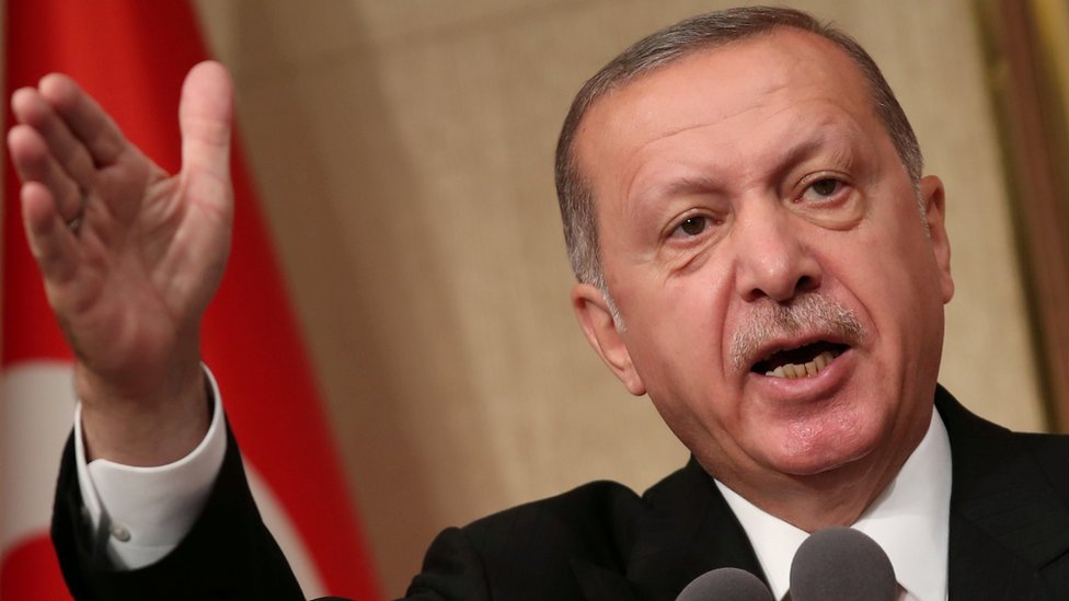 Turkish President Recep Tayyip Erdogan (file picture)