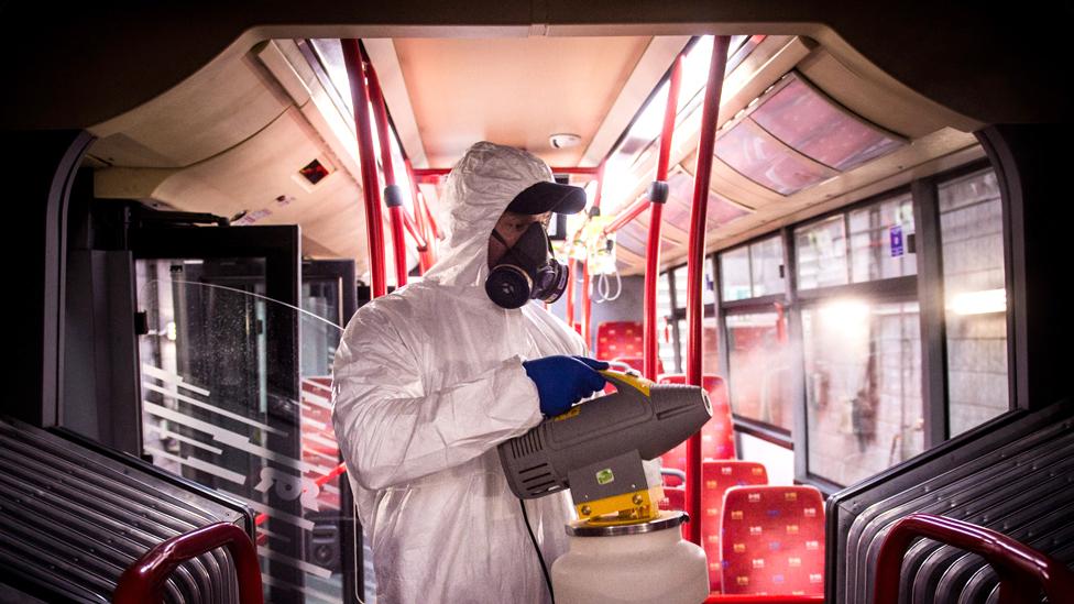 Dezinfekcija autobusa