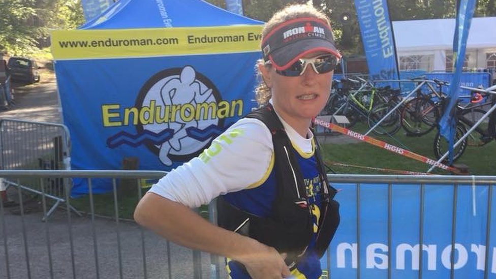 Cromer police officer finishes triple Iron Distance