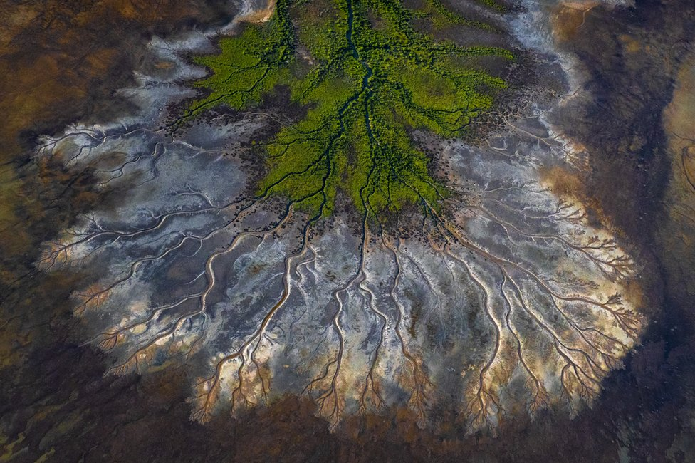 Fotografija reka i potoka u zalivu Karpentarija u Australiji
