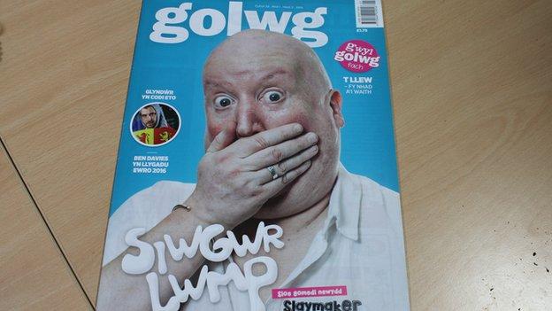 Copi o gylchgrawn Golwg