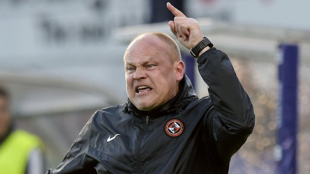 "Mixu Paatelainen said Dundee United were ""far from good enough"""