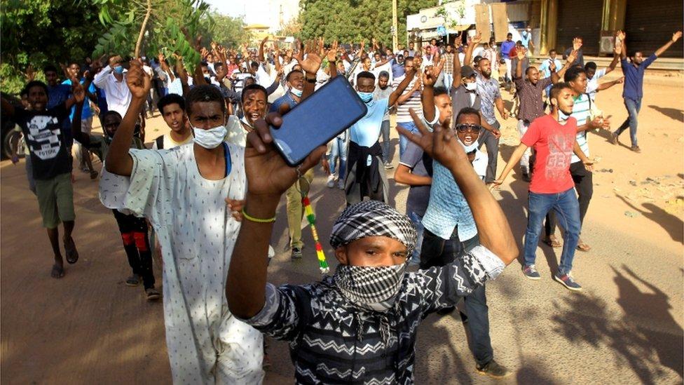 احتجاجات في الخرطوم يوم 25 ديسمبر 2018
