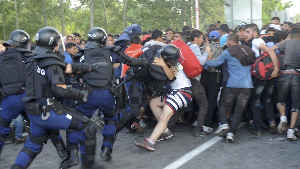 Roszke clash, 16 Sep 15