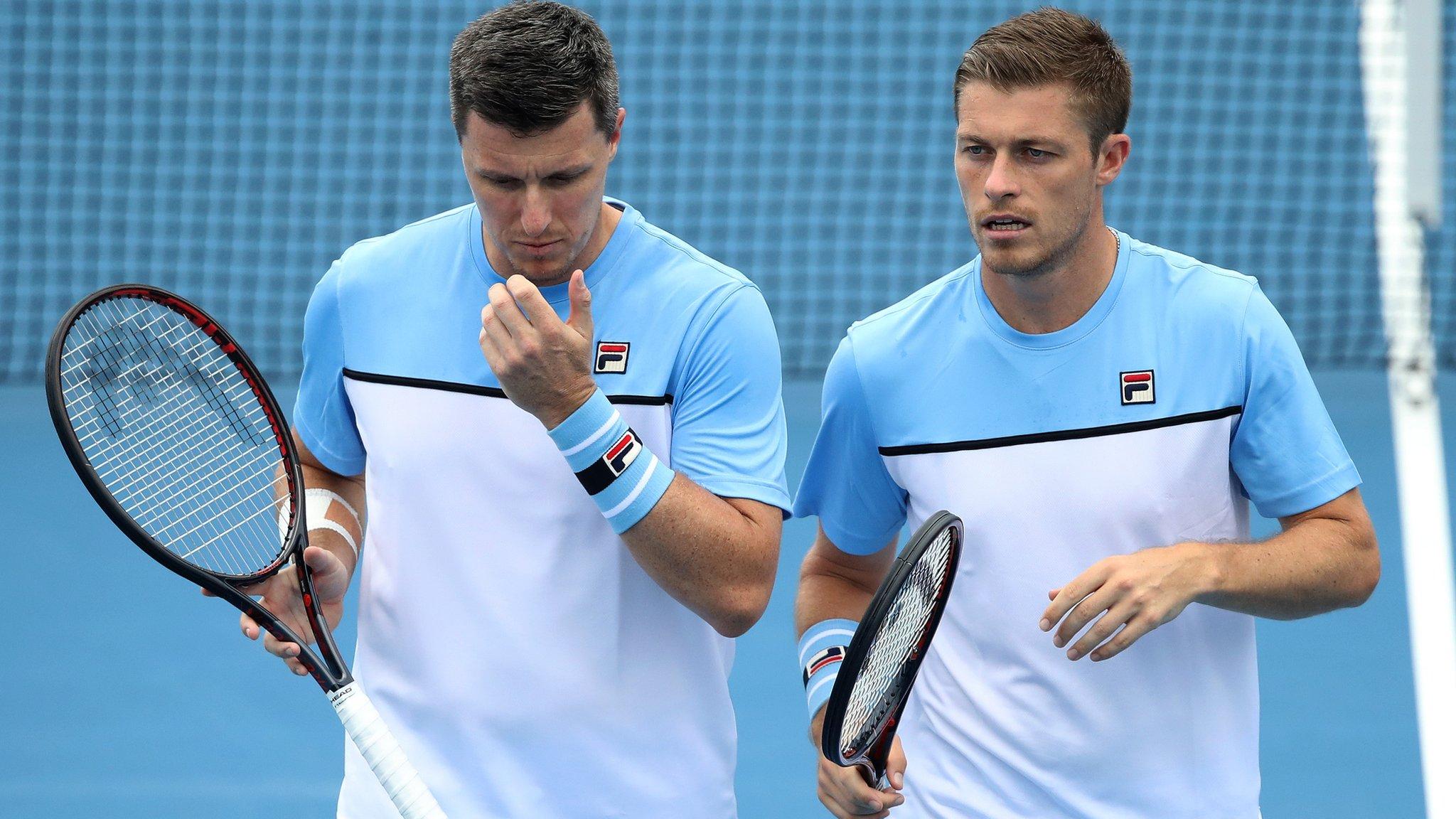 Australian Open 2019: Britain's Neal & Ken Skupski and Harriet Dart lose doubles
