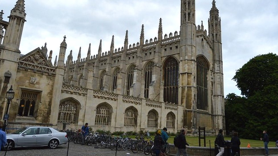 Cambridge college apology after autistic boy 'removed' from chapel