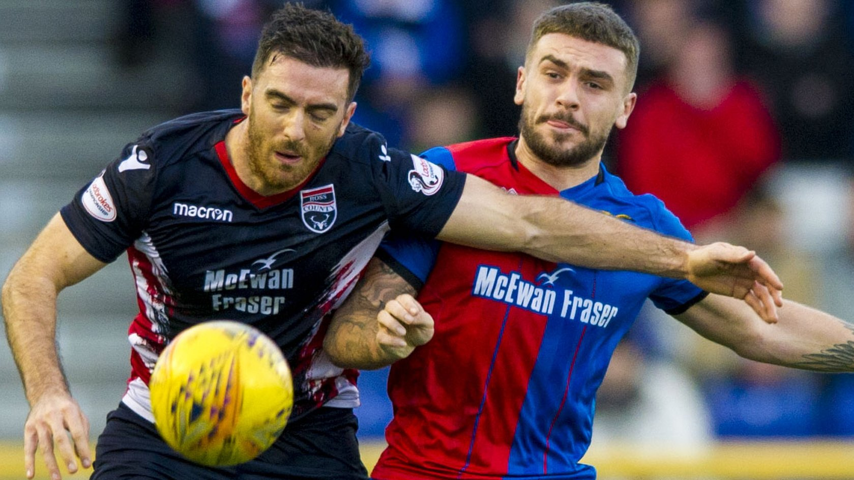 Inverness CT 2-2 Ross County: Long-range stunner & controversy in derby draw