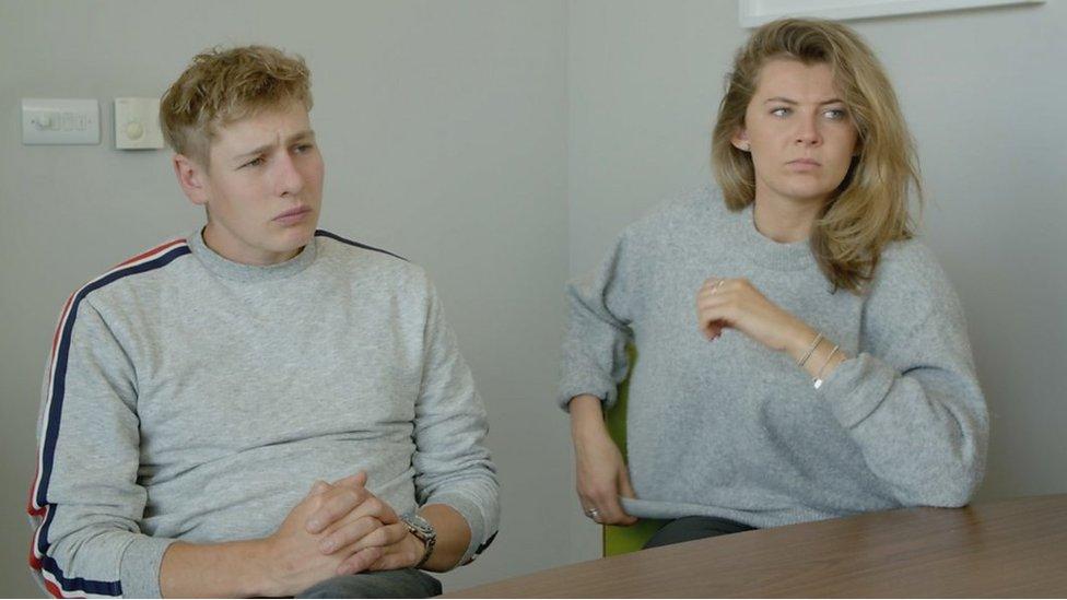Captura de pantalla del documental