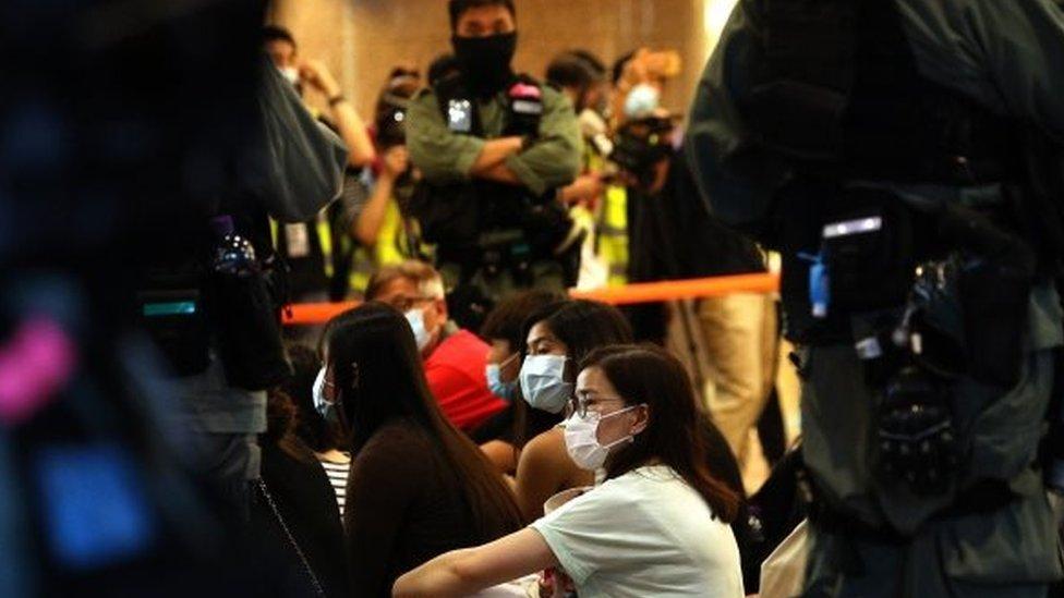 protes di Hong Kong