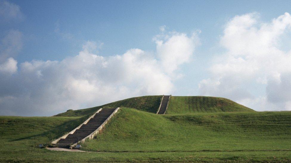 Montículo de Cahokia.