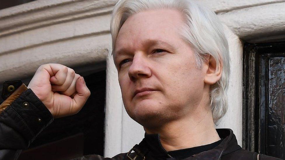 US 'preparing indictment against Julian Assange' of WikiLeaks