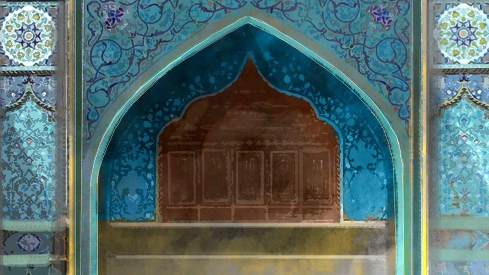 El santuario de Kadhimiya en Bagdad.