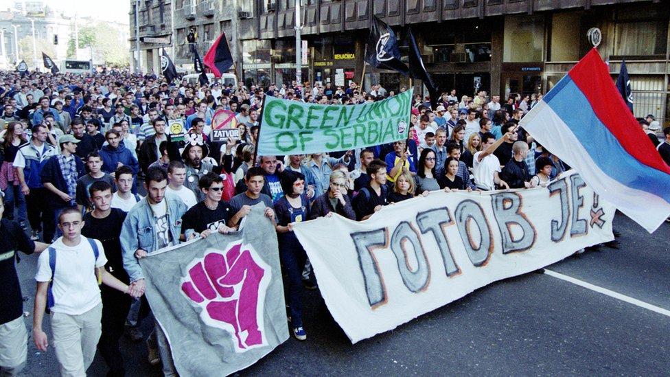 studentski protest 2000, srbija