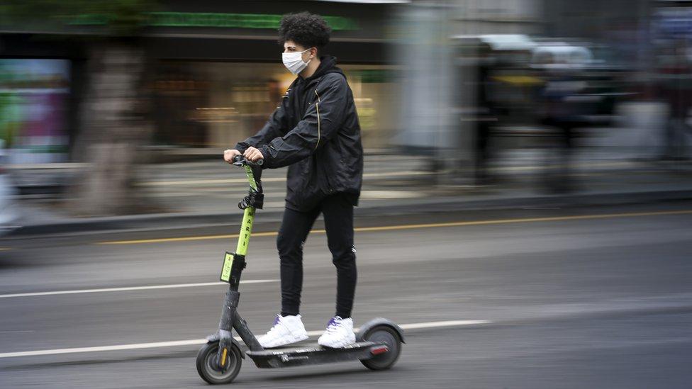 Türkiye'de elektrikli scooter