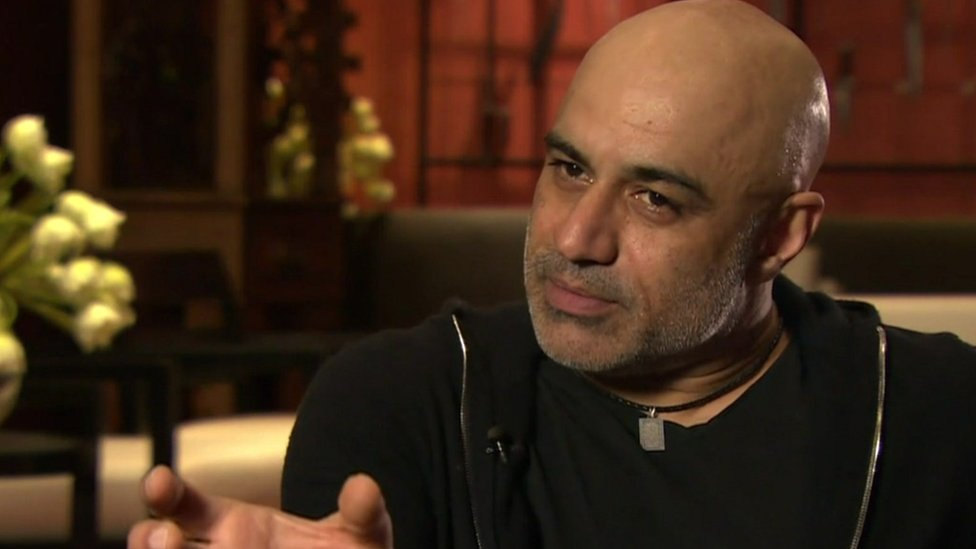 Muslim-American Actor Faran Tahir as Othello