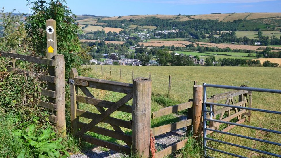 'Iconic' Eildon Hills path network secures support