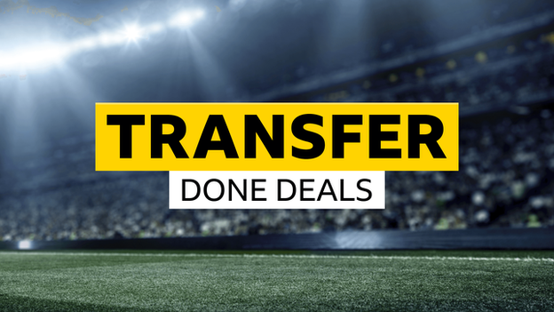 Transfers - done deals for August 2018