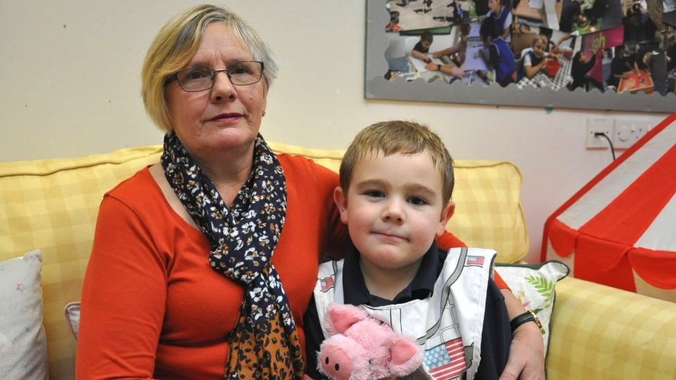 Anita and her foster son