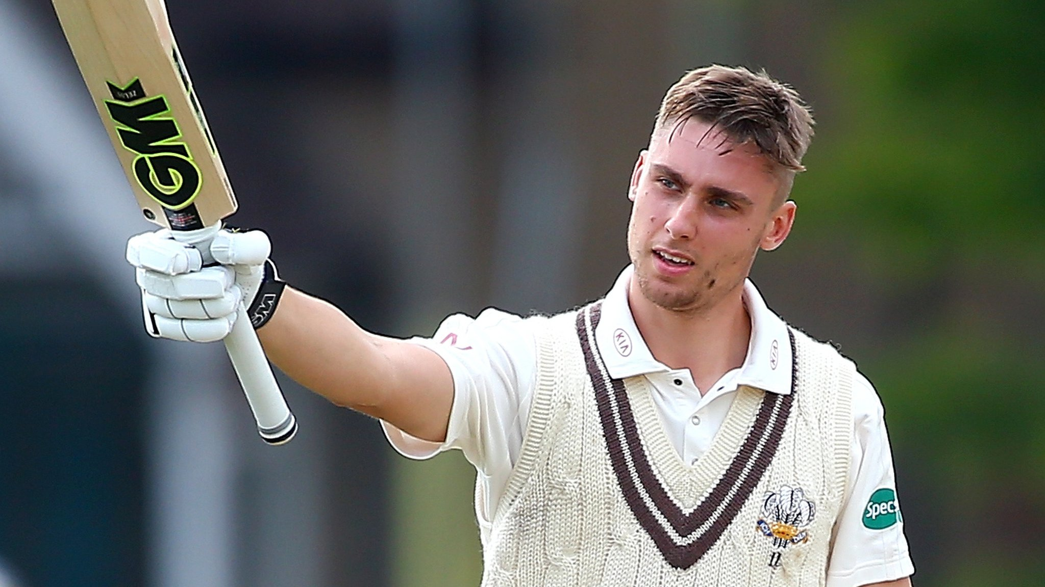 County Championship: Will Jacks' maiden century puts Surrey on top against Kent