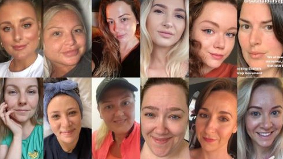 A collection of unfiltered selfies