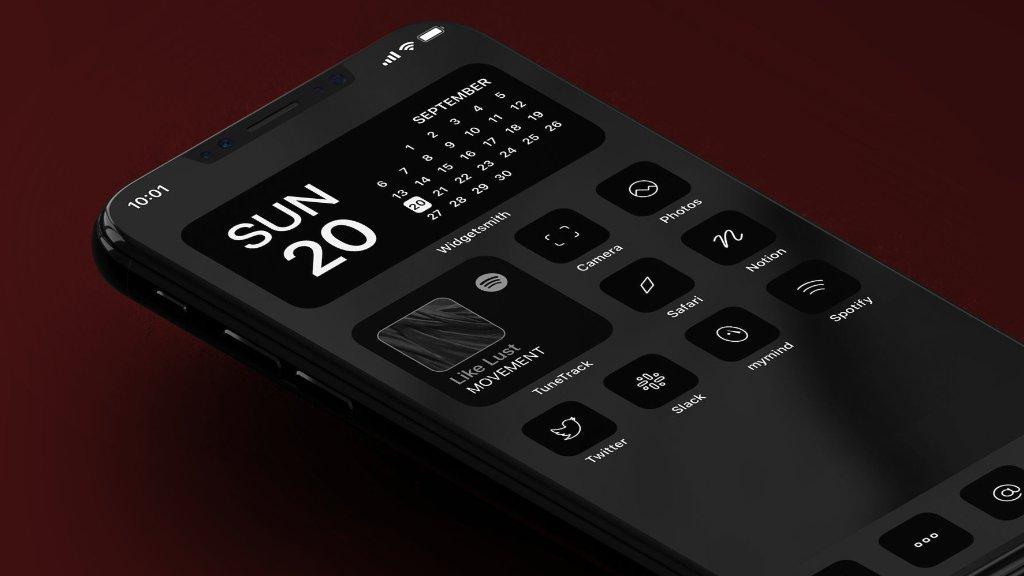 iPhone design by Traf