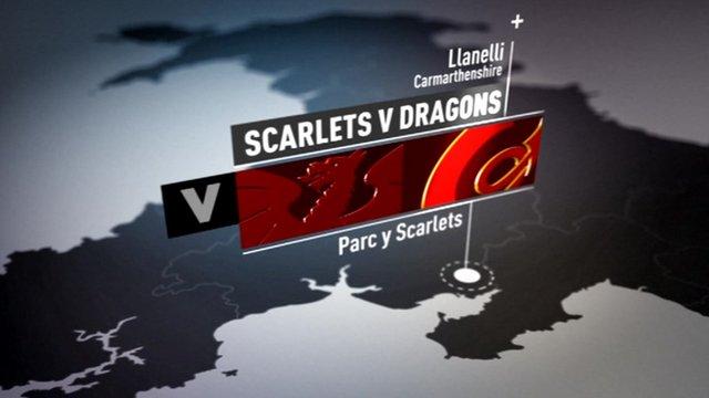 Pro12 highlights: Scarlets 25-15 NG Dragons