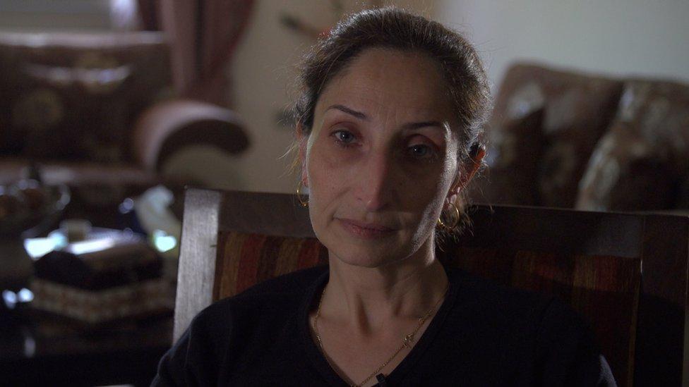 Azar Abu Srour's son blew up the bus in Jerusalem that killed Eden Dadon.