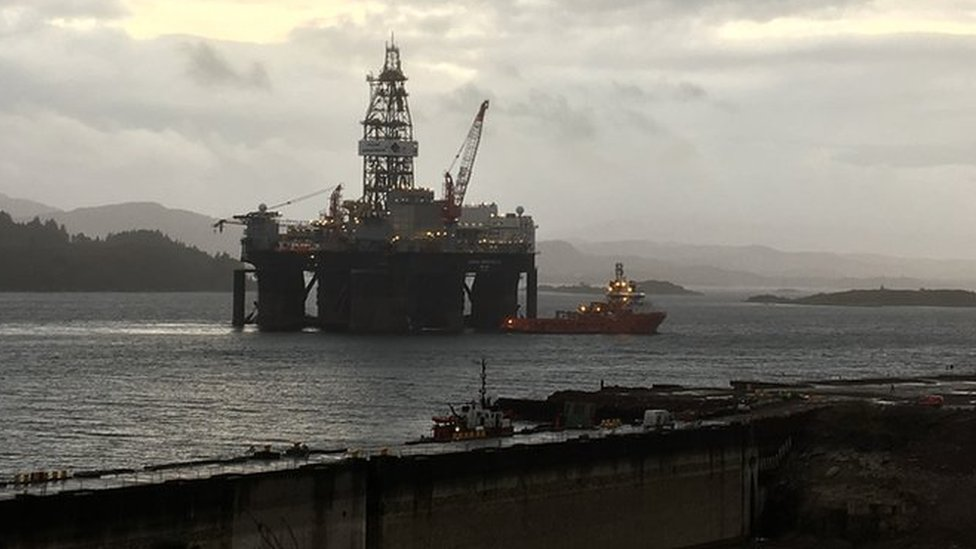 Kishorn: Rig work 'wakens sleeping giant'