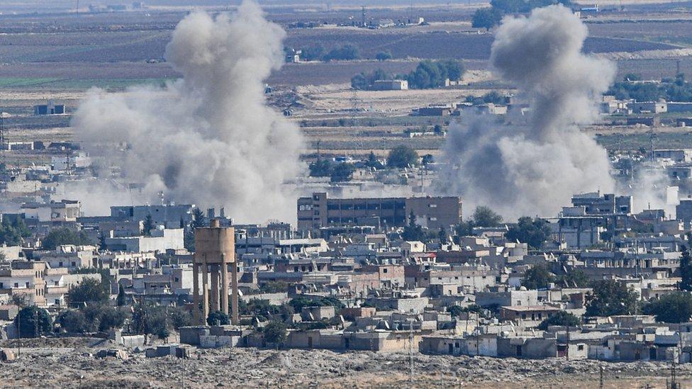 معارك شرسة نشبت بين القوات التركية والأكراد