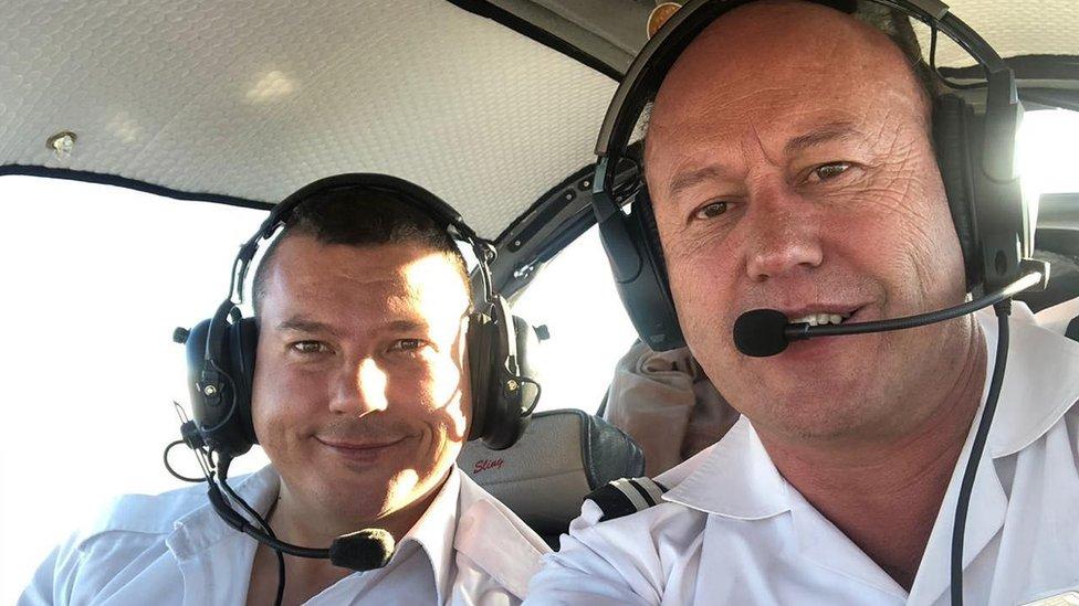 Des Werner and Werner Froneman