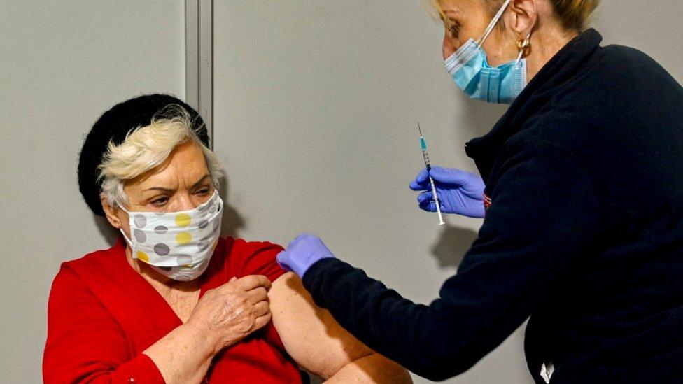 مركز للحصول على اللقاح