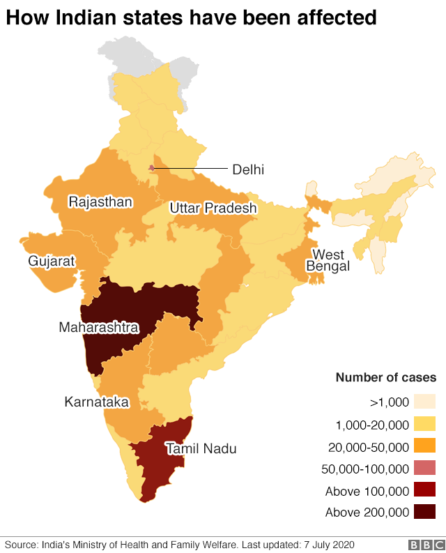 Coronavirus Is India The Next Global Hotspot Bbc News