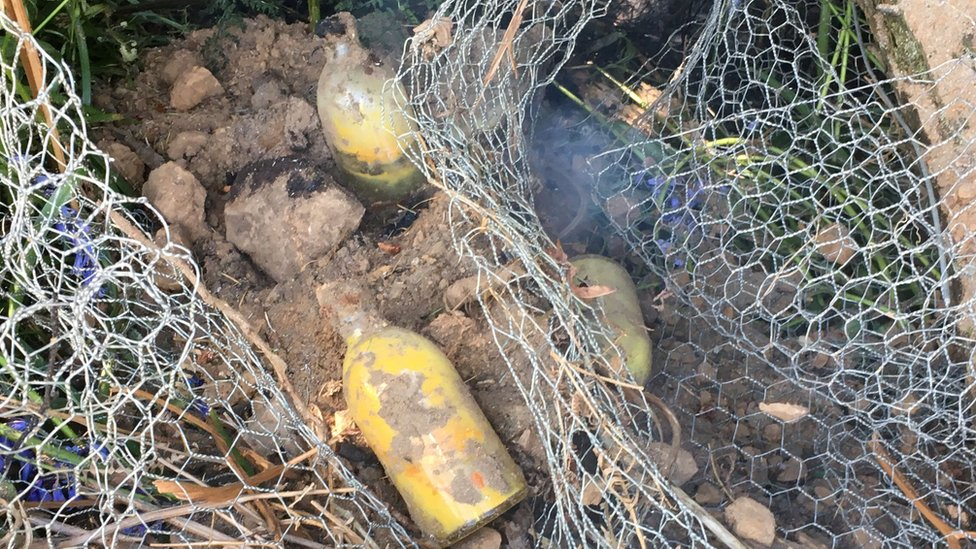Power workers unearth Home Guard grenades near Tongland Dam