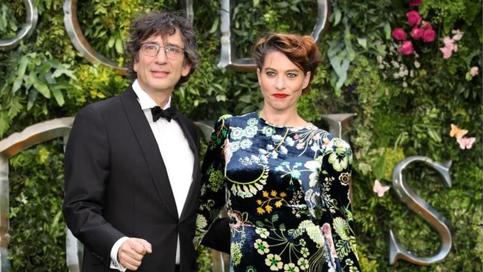 Neil Gaiman and wife Pamela