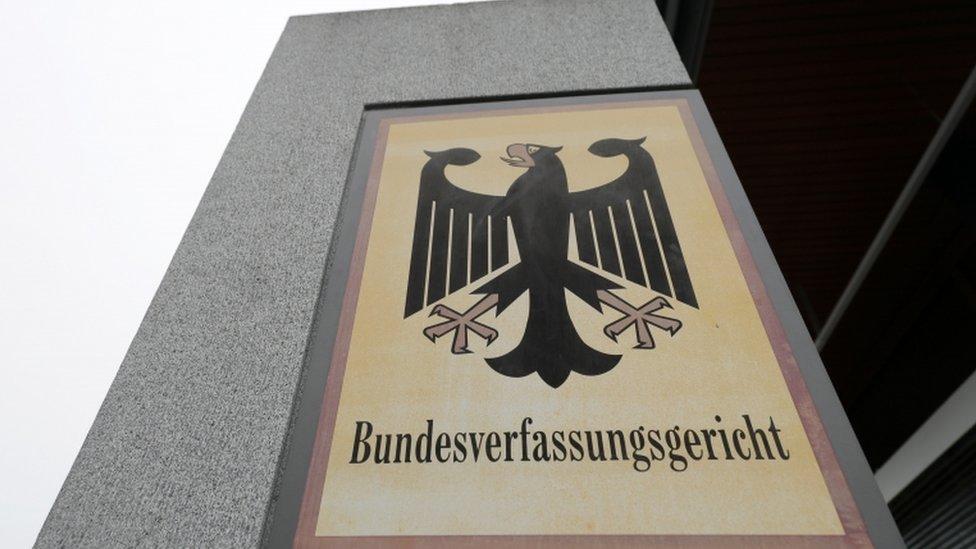 Nemački Ustavni sud, Karlsrue