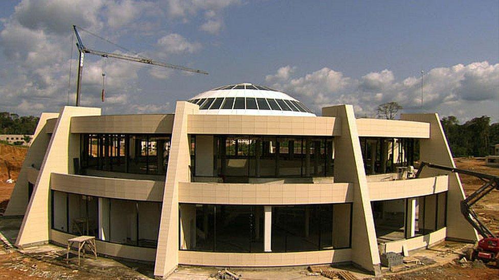 University library, Oyala