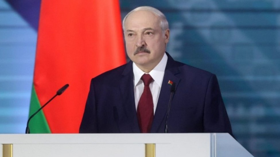 Belarus President Alexander Lukashenko, 4 Aug 20