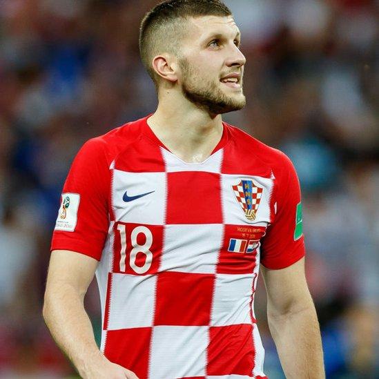 El croata Ante Rebic quedó oficialmente como el jugador más rápido de Rusia 2018 junto a Cristiano Ronaldo, ambos con una velocidad de 33,98 kilómetros por hora.