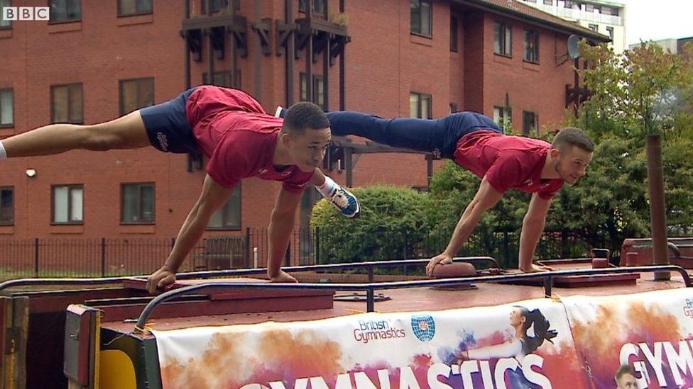 GB gymnasts promote World Cup return to Birmingham