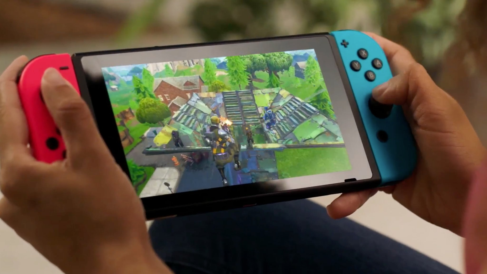 Nintendo Switch gets Fortnite