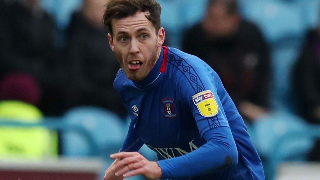 Jamie Devitt: Blackpool sign Carlisle United midfielder on free transfer